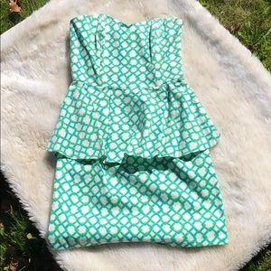 Julie Brown Peplum Dress